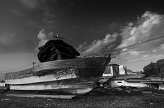 Abandoned Boat | 140802-2782-jikatu (jikatu) Tags: uruguay nikon montevideo yates buceo puertito 1424mm jikatu d800e