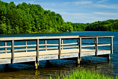 Reidsville Lake Fishing Dock (No Talent Bum) Tags:
