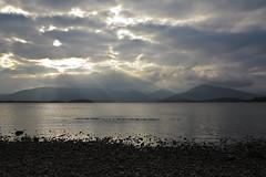Clouds, Milarrochy Bay (Not Far From Here) Tags: scotland benlomond lochlomond argyllandbute westdunbartonshire scottishlochs lochlomondandthetrossachsnationalpark milarrochybay hikingscotland