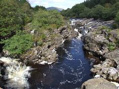 Downstream (nz_willowherb) Tags: see scotland highlands dangerous flickr tour argyll visit falls rough glenorchy turbulent argyllandbute riverorchy to go
