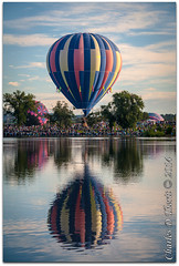 Reflecting upon the 2014 Colorado Balloon Classic - Day 2 (ctofcsco) Tags: city party portrait usa reflection water festival clouds canon balloons landscape fun happy colorado unitedstates crowd bluesky explore telephoto coloradosprings northamerica hotairballoon 5d symetry launch mass 80 crowds 28300mm ascension memorialpark crowded 1250 2014 superzoom balloonclassic eos5d coloradoballoonclassic explored knobhill prospectlake 130mm ef28300mmf3556lisusm