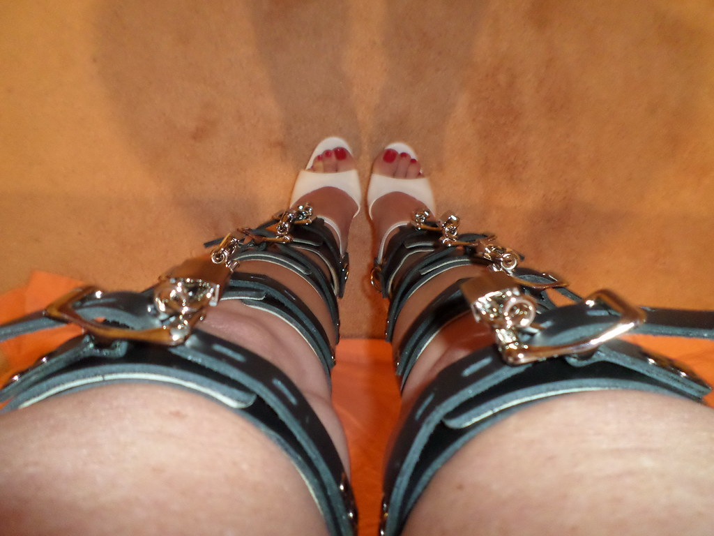 Bdsm shoe lock chains already