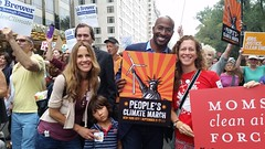 Photo from Clean Air NJ at the People's Climate March in NY on September 21st