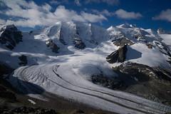 The White Beauty of Pitz Palu (Toni_V) Tags: mountains alps landscape schweiz switzerland europe suisse hiking 28mm rangefinder glacier bellavista alpen svizzera gletscher engadin wanderung m9 2014 oberengadin graubünden grisons svizra pizpalü diavolezza grischun vadretpers elmaritm messsucher pizargient muntpers 140824 thewhitehellofpitzpalu ©toniv leicam9 pizzupo pitzpalu l1018169