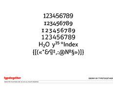 Sneak Peek: Ebony (TypeTogether) Tags: ebony typeface sneakpeek typedesign veronikaburian josscaglione wwwtypetogethercom