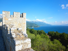 Samuel's Fortress and the Lake (constantine_blk) Tags: old lake town macedonia ohrid fortress samuel tsar tzar     samuil
