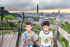 IMG_4616 (JIMI_lin) Tags: sunset 101 taipei 信義區 觀音山 大冒險 虎山峰
