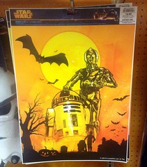 Star Wars Halloween 2014 Window Clings, KMart, 9/2014 by Mike Mozart of TheToyChannel and JeepersMedia on YouTube #Star #Wars #Halloween #2014