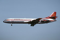 F-GHKN-EDI070392copy (MarkP51) Tags: edinburgh aircraft aviation edi caravelle egph edinburghairport se210 airtoulouse fghkn