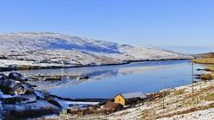 Voe _MG_7727 (Ronnierob) Tags: snow voe shetlandisles
