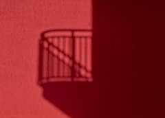 Balcony (marcus.greco) Tags: balcony red shadow abstract surreal conceptual color