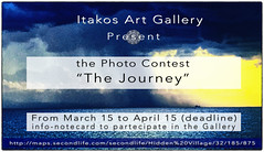 """Photo Contest """"The Journey"""" (Akim Alonzo) Tags: secondlife itakos gallery contest photograph event"""