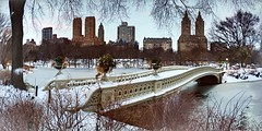 After Storm Stella, Bow Bridge March 2017 (dannydalypix) Tags: bowbridge centralpark stella