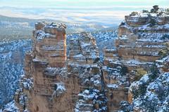 Grand Canyon 135 (Krasivaya Liza) Tags: grandcanyon grand canyon national park canyons nature natural wonder az arizona holiday christmas 2016 snowy winter cliffs cliffside edgeofcliff