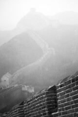 A Snow Kissed Great Wall (virtualwayfarer) Tags: china chinese unesco unescoworldheritage worldheritage worldheritagesite greatwallofchina thegreatwall architecture history historic fortification snow spring winter snowcovered brickwall invasion defensive greatwall wonderoftheworld ancient historical empty weather storm fog mist rain gatehouse walking walkingthewall travel tourism visitchina thingstosee alexberger virtualwayfarer canon canon6d blackandwhite blackandwhitephotography adventure adventuretravel traveladventure lifestyleinspiration