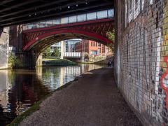 Three Bridges (jason_hindle) Tags: manchester unitedkingdom manchestershipcanal