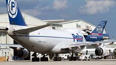 Polar Air Cargo 747 At Miami. (spencer.wilmot) Tags: n450pa polar 747 miamiairport