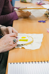 DSC_0716 (surreyadultlearning) Tags: embroidery sewing adulteducation surrey camberley art craft tutor uk painting calligraphy photography
