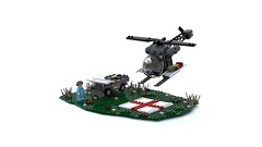 MASH Helicopter_ for rabender825.lxf (Florida Shoooter) Tags: mash lego helicopter