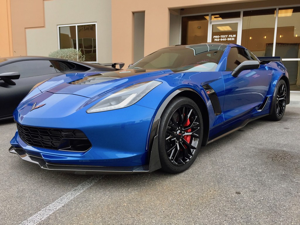 2017 Chevrolet Corvette Zo6 Complete Xpel Ultimate Wrap