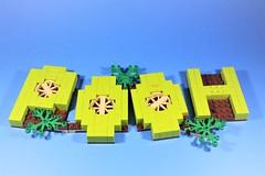 08_Stand (bbchai) Tags: winnie pooh tiger piglet eeyore lego brickheadz block head disney moc
