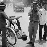 Hue 1972 - South Vietnamese soldier weeps over the body of a friend killed during a North Vietnamese rocket attack thumbnail