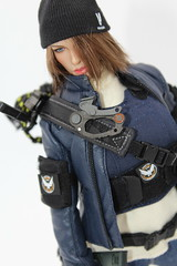 The Division female kitbash (kengofett) Tags: phicen verycool division female agent 16 figures