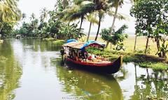 A ride in the Backwaters (Shrayansh Faria Photography) Tags: backwaters waters trees green lush boat houseboats