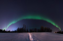 The Portal (AngryTheInch42) Tags: panorama aurora auroraborealis northernlights kiruna sweden stars snow winter astronomy astrophotography