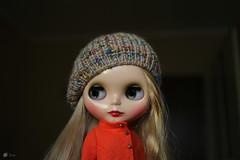 (Echo (EchoForDolls)) Tags: doll blythe winterishallure beret echofordolls etsy knitting