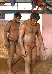 "Kushti Wrestling (Kushtiguy) Tags: ""eos 7d mark ii"" india newdelhi guruhanumanakhara akhara kushti wrestling wrestle wrestler 2017 sport outdoor sand men"