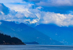 Mountains (Jane Olsen) Tags: ocean water clouds summer outdoor waterscape landscape britishcolumbia