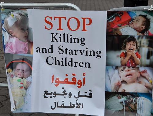 U.S. instigated and supported war on Yemen's men, women and children.