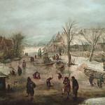 VELDE (van de) Jan - Village en Hiver (Custodia) - Detail 04 thumbnail