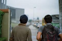 We choose the long way (AndreiSaade) Tags: minolta himatic7s minoltahimatic7s himatic kodak proimage 100 streetphotography rangefinder 35mm 35mmfilm keepfilmalive istillshootfilm méxico xalapa film