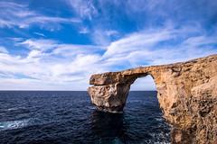 Azure Window (petia.balabanova(tnx for +2 million views)) Tags: colors rock sea sky clouds travel 1735mm gozo malta island nikond800 azure window landscape nature