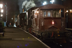 Queen Mary (daveymills31294) Tags: queen mary brake van ropley watercress line mid hants railway ransome rapier
