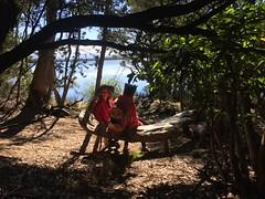 The Smalls on Needwonnee land. Melaleuca Creek. Port Davey, Tasmania.