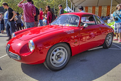 1960 Alfa Romeo Sprint Veloce Zagato (SZ) (dmentd) Tags: sprint alfaromeo 1960 zagato sz veloce