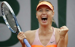 Maria Sharapova in finale a Parigi