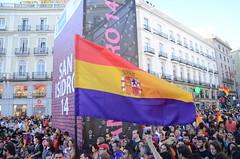 7J Cibeles-Puerta del Sol (Alejandro Valdezate) Tags: revolución república cibeles referéndum puertadelsol 15m