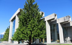 (Architourist2day) Tags: canada museum architecture vancouver bc ubc anthropology erickson