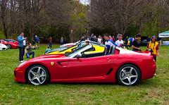 Ferrari SA Aperta (Rolla89) Tags: red ny silver open 4 rally may 360 ferrari exotic porsche sa carbon limited lamborghini scuderia supercar 430 concoursdelegance aperta convertable 2014 599 458 aventador saaperta