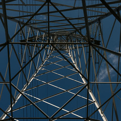 High voltage (TouTouke - Nightfox) Tags: blue sky cloud tower industry station silhouette electric metal danger grid high wire energy industrial technology power belgium transformer cloudy steel engine engineering cable structure line pole pylon equipment frame electricity environment tall toned electrical powerful generation transmission alternative supply voltage energetic ruien