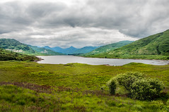 Loch Arklet (RiserDog) Tags: scotland day cloudy lochlomond aberfoyle thetrossachs scottishhighlands lochkatrine inversnaid locharklet kinlochard stronachlacher