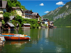 Hallstatt am Hallsttter See (Ostseetroll) Tags: lake geotagged see sterreich olympus obersterreich aut hallstatt unescowelterbe hallsttter e620 geo:lat=4756340775 geo:lon=1364951072