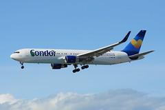 Condor Boeing 767-330ER(WL) D-ABUA (CharlieOscar98) Tags: airport boeing condor yvr 767