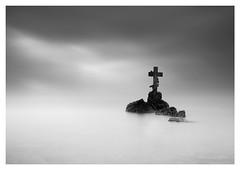 Without End (picturedevon.co.uk) Tags: uk longexposure bw seascape abstract stone canon mono rocks cross unitedkingdom fineart devon le minimalist composit brixham torbay 10stop bigstopper eos5dmk2 wwwpicturedevoncouk