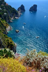 Capri, lovely Capri (hoka☆hey) Tags: capri vee valentina faraglioni hokahey valentinadesantis