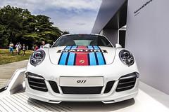 Porsche 911 (big-ashb) Tags: england car bike festival race speed canon sigma thursday goodwood chichester 1835 2014 festivalofspeed 600d